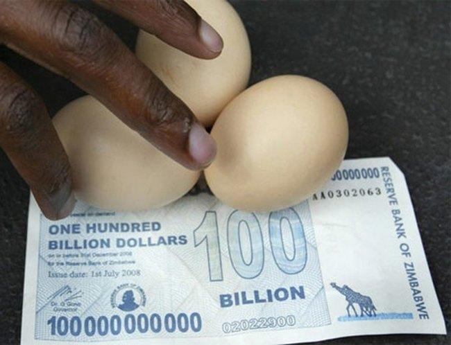 Những tỷ phú chết đói tại Zimbabwe