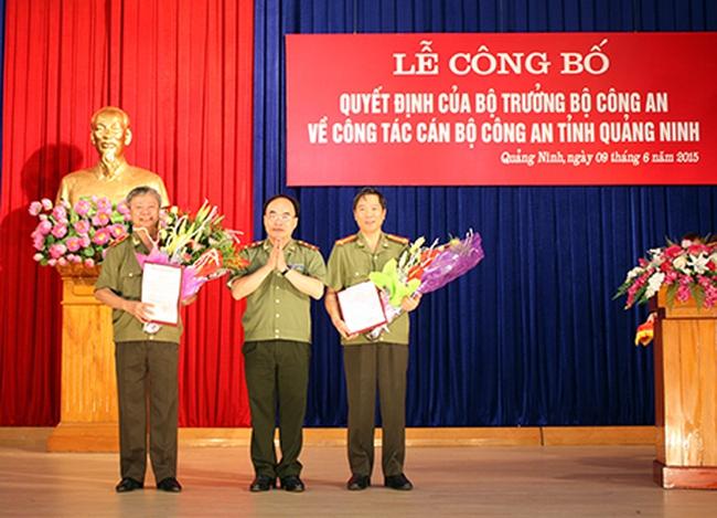Ông Đỗ Văn Lực làm giám đốc Công an tỉnh Quảng Ninh