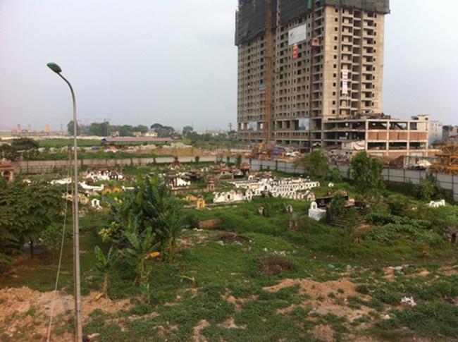 Soi hạ tầng loạt dự án chung cư giá rẻ dọc Đại lộ Thăng Long (Phần 1)