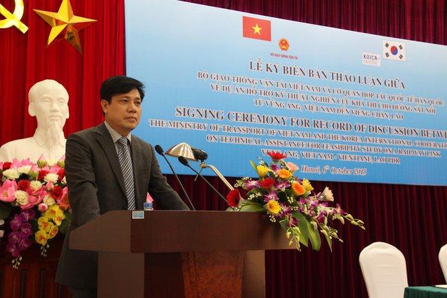 KOICA dự kiến giải ngân 3 triệu USD cho dự án đường sắt Việt - Lào