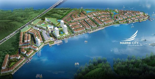 Nhận ngay xe hơi khi mua đất nền Marine City – Vũng Tàu