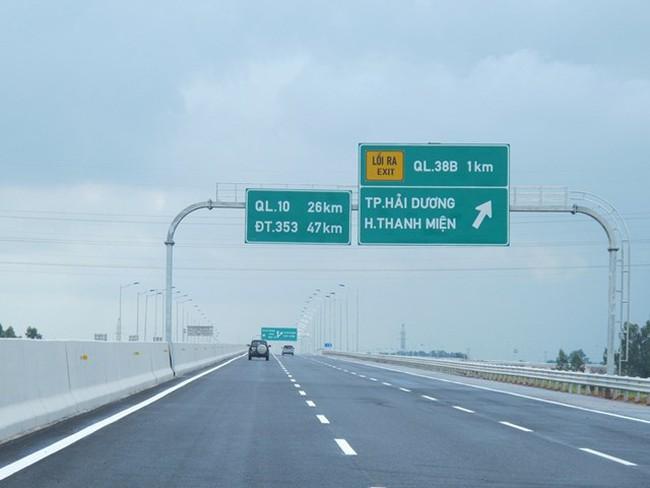 Thông xe thêm 52,5 km cao tốc Hà Nội-Hải Phòng: Phí cao nhất 600.000 đồng/xe/lượt