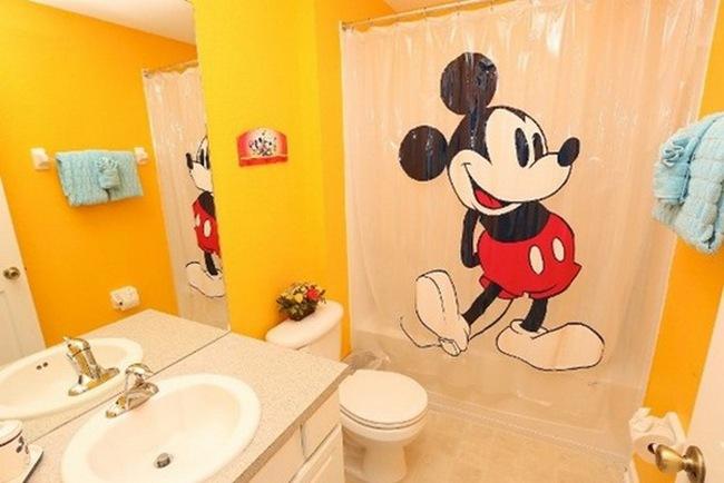 Thiết kế phòng tắm siêu đáng yêu cho trẻ
