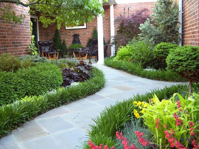 Thiết kế sân vườn hợp phong thuỷ mang an lành cho gia chủ