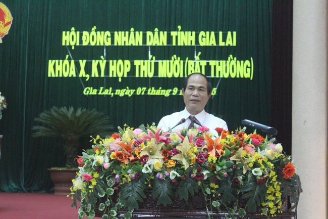 Ông Võ Ngọc Thành được bầu làm chủ tịch UBND tỉnh Gia Lai