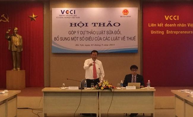 Vụ trưởng Vụ chính sách thuế: Năm nay dự kiến thiếu 20.000 tỷ tiền hoàn thuế