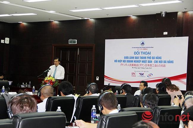 Chủ tịch TP Đà Nẵng đối thoại với các doanh nghiệp Nhật Bản
