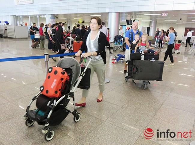 Khách quốc tế thông qua sân bay Đà Nẵng tăng đến 60 – 70%