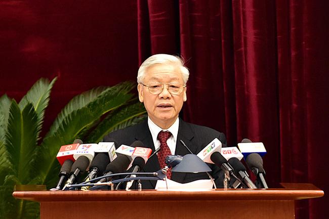 Phát biểu của Tổng Bí thư tại Hội nghị Trung ương 13