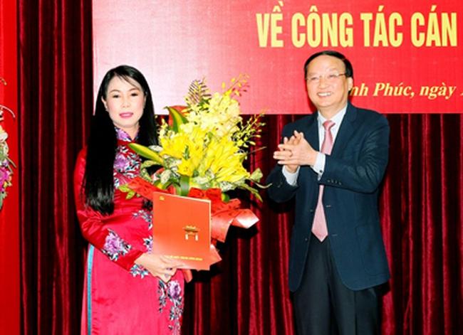 Bà Hoàng Thị Thúy Lan được bầu làm Bí thư tỉnh ủy Vĩnh Phúc