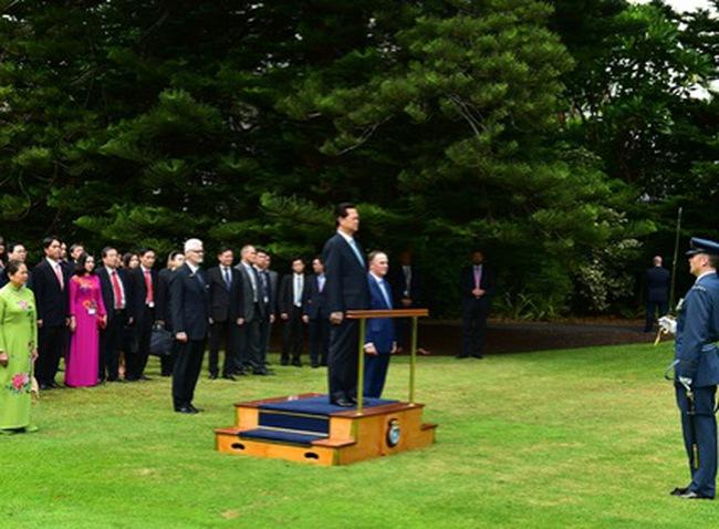 Thủ tướng thăm chính thức New Zealand
