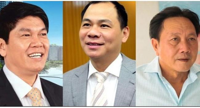 Chỉ 1 tuần, túi tiền của những người giàu nhất Việt Nam bốc hơi hàng trăm, nghìn tỷ