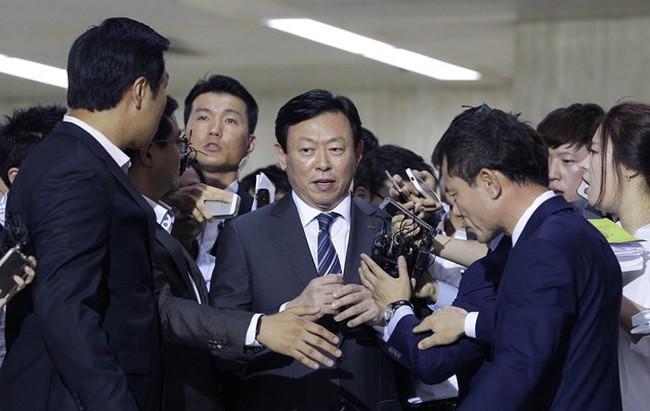 Chủ tịch Tập đoàn Lotte bị hạ bệ