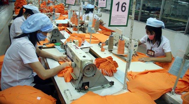Lợi nhuận của 6 doanh nghiệp dệt may niêm yết tăng 21% so với quý 1/2014