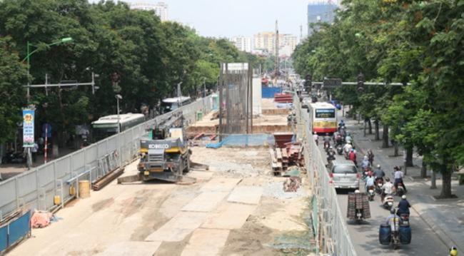 Tuyến metro Nhổn –Ga Hà Nội đang xây dựng đến đâu?