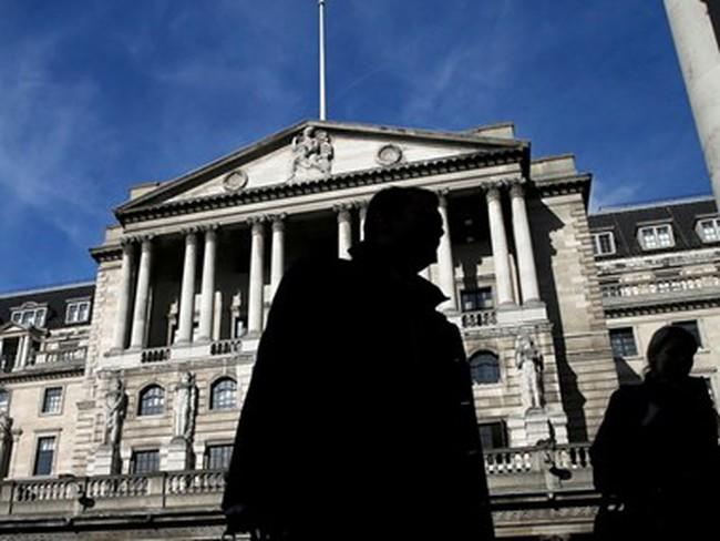 Ngân hàng trung ương Anh hạ dự báo tăng trưởng kinh tế
