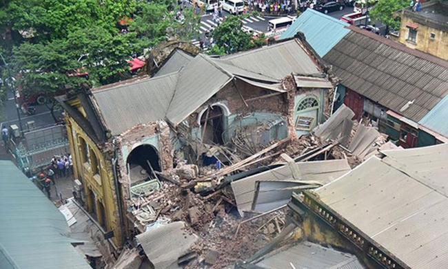 Vụ sập nhà cổ Hà Nội: Bộ Xây dựng lên tiếng