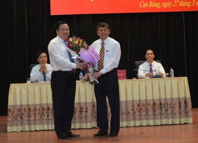 Cao Bằng có tân Chủ tịch UBND tỉnh