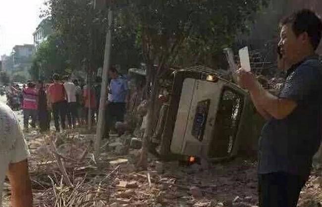 Trung Quốc: Tiếp tục xảy ra vụ nổ ở khu tự trị Choang Quảng Tây
