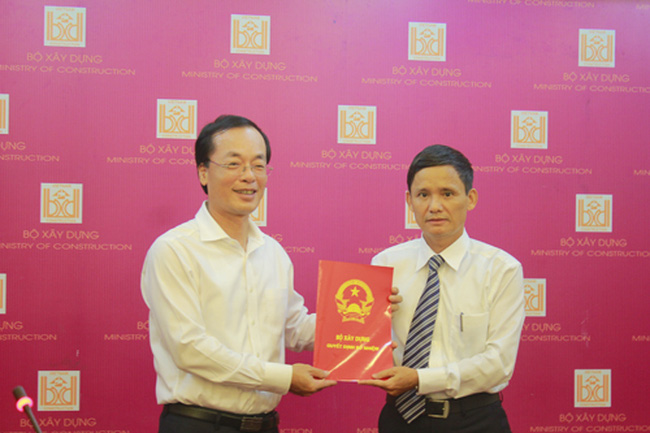 Ông Nguyễn Trọng Ninh làm Cục trưởng Cục quản lý nhà và thị trường BĐS