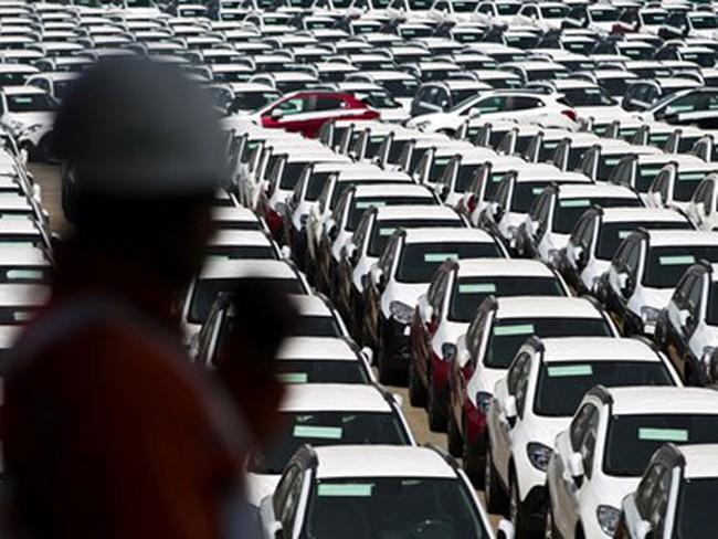 Xuất khẩu ôtô của Hàn Quốc giảm do tỷ giá hối đoái bất lợi