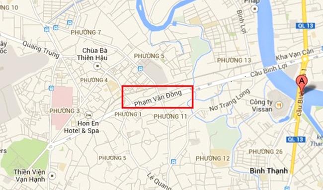 Sắp thông xe toàn tuyến đại lộ Phạm Văn Đồng