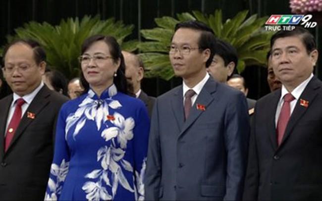 Ông Võ Văn Thưởng được bầu làm Phó Bí thư Thường trực Thành ủy TP.HCM