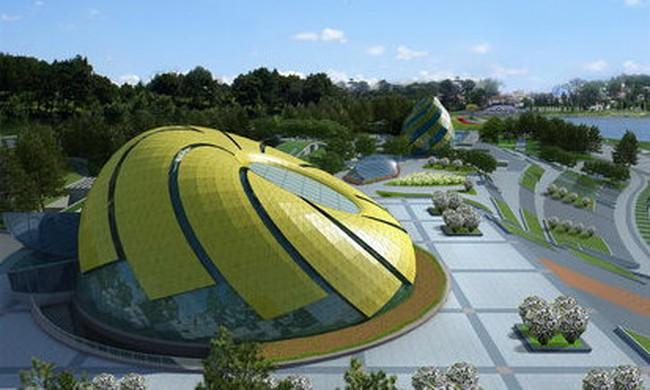 Xây quảng trường Lâm Viên - Đà Lạt xong dư 111 tỷ đồng