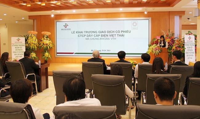 Cáp điện Việt Thái: Không đặt chỉ tiêu cao cho năm 2015 vì khách hàng lớn tự cung ứng sản phẩm