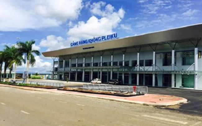 Hoàn thành dự án nâng cấp Cảng hàng không Pleiku