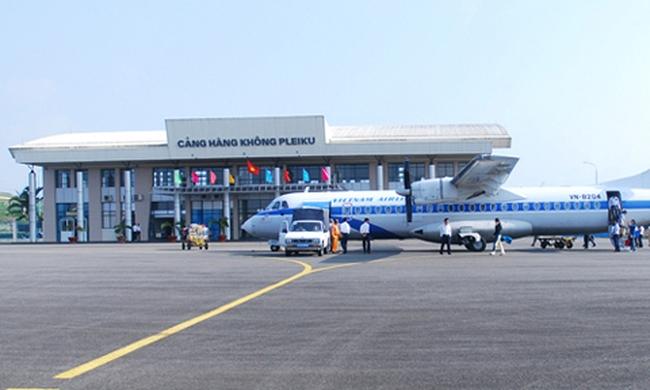Mở lại cảng hàng không Pleiku từ ngày 1-9
