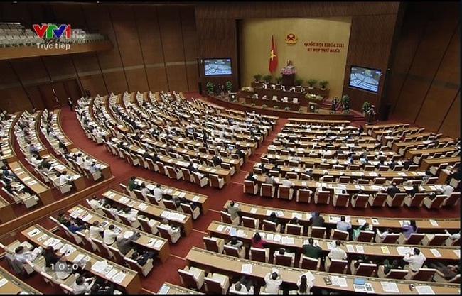 """[Trực tiếp họp Quốc hội]: """"Làn sóng"""" hội nhập sẽ khiến phát triển dồn ép và thách thức kinh tế vĩ mô"""