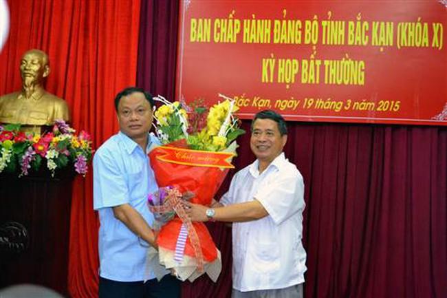 Ông Nguyễn Văn Du tái đắc cử Bí thư tỉnh ủy Bắc Kạn