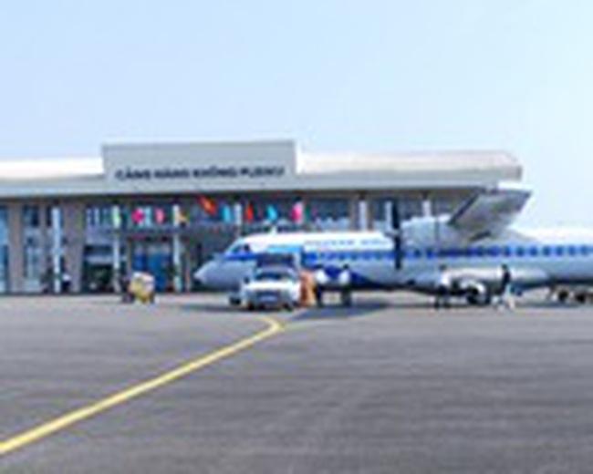 Sân bay Pleiku chính thức hoạt động trở lại