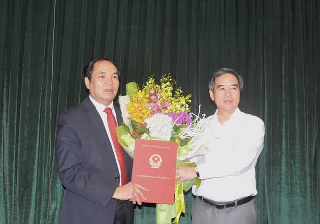 Nguyên Chủ tịch Bảo hiểm Tiền gửi VN sang làm Vụ trưởng Vụ Tổ chức cán bộ NHNN