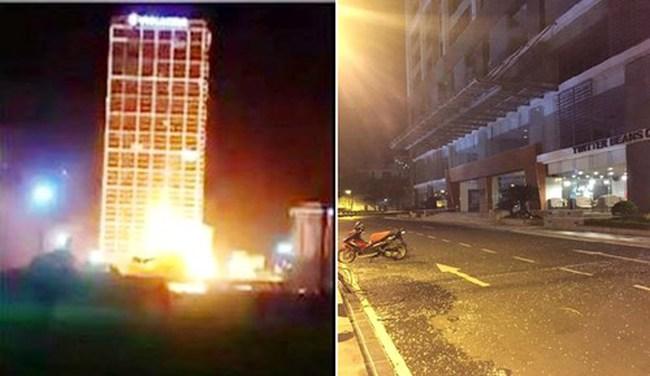 Hà Nội: Cao ốc 40 tầng chập điện nổ như bom, dân bỏ chạy