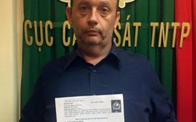 Công an bắt giữ giám đốc nước ngoài lừa đảo gần 200.000 USD