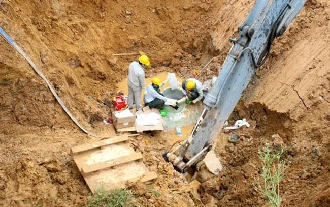 C46 thông tin việc bắt tạm giam vụ vỡ ống nước Sông Đà