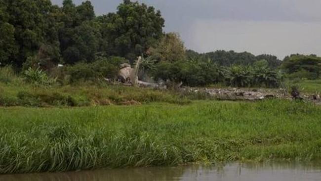 Máy bay rơi ở Nam Sudan, 41 người thiệt mạng