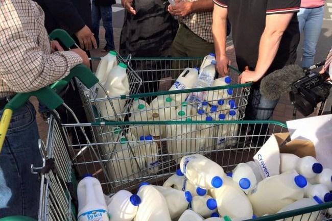 Sữa châu Âu rẻ hơn nước lọc