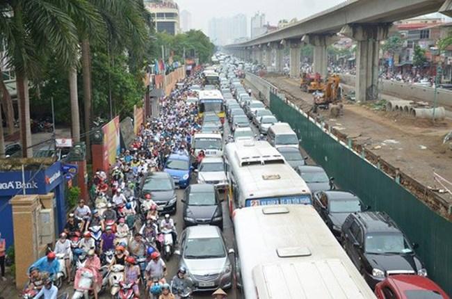 Chuyên gia Hàn Quốc 'hiến kế' giảm ùn tắc ở Hà Nội