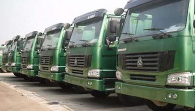 Xe tải Trung Quốc qua Lạng Sơn tăng đột biến