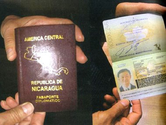 Thái Lan thông báo hủy hộ chiếu của cựu Thủ tướng Thaksin