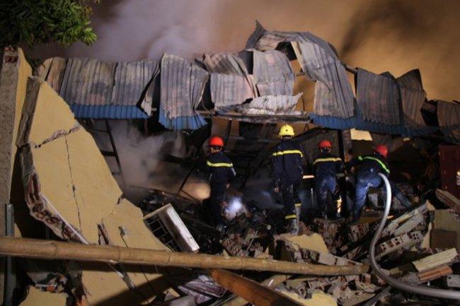Cháy Công ty Đông Bắc, thiệt hại hàng chục tỷ đồng