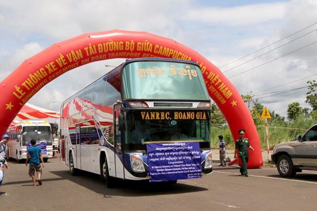 Thông xe ba nước Việt Nam - Lào - Campuchia