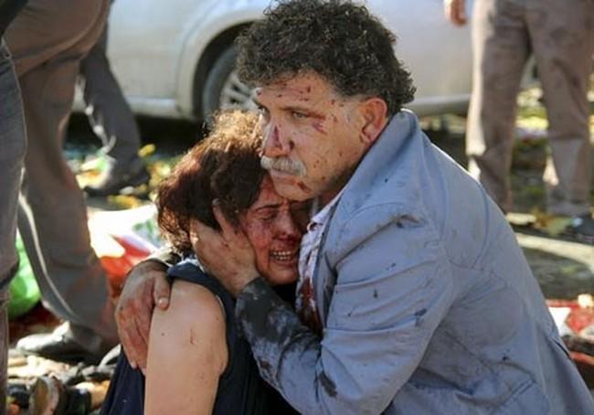 Bom nổ ở thủ đô Thổ Nhĩ Kỳ, ít nhất 30 người chết
