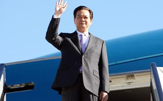 Thủ tướng dự các Hội nghị cấp cao tại Myanmar