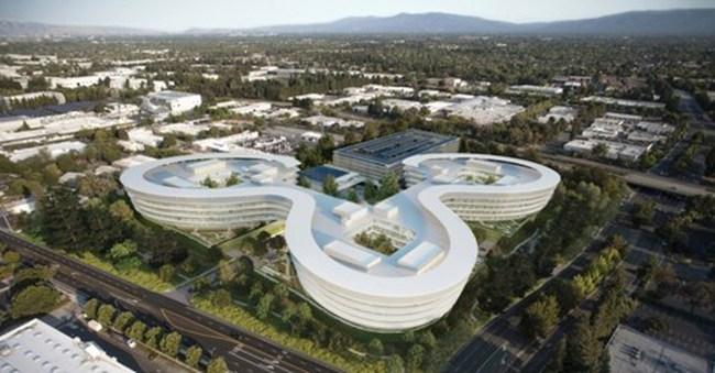 Apple sắp xây trụ sở mới ngay phía sau Google