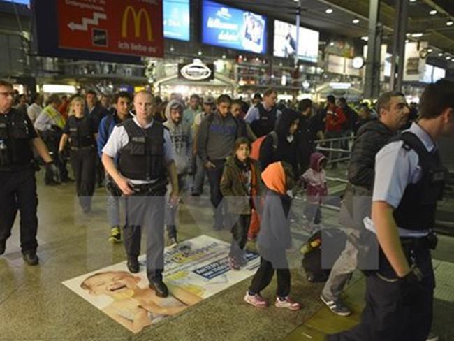 Kinh tế Đức được hưởng lợi trong ngắn hạn nhờ dòng người nhập cư