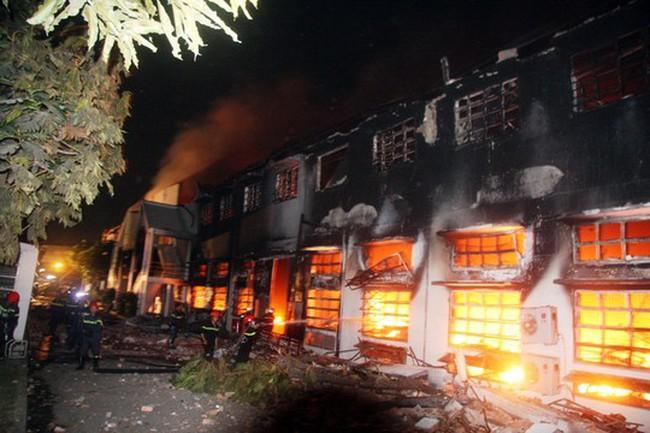 Cháy lớn tại Công ty Việt Nam SamHo